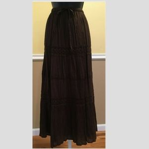 Dresses & Skirts - NWOT Pretty Peppermint Bay Maxi Long Skirt Size S